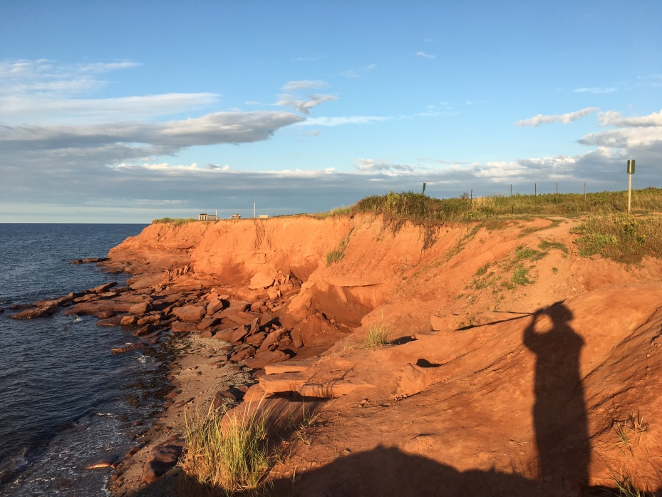 View of Red Rocks at dust in Prince Edward Island National Park. By Keith McArthur